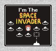 Moonage Space Invader Kids Tee