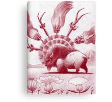 Witchcraft Buffalo Swept away... Canvas Print