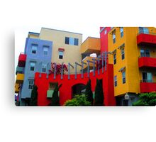 Multi Colored Complex San Diego Canvas Print