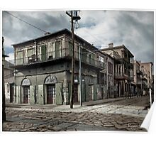 New Orleans Old-Absinthe House on Bourbon Street Circa 1903 Poster