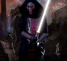 Darth Revan in Jedi Temple by Jackluminous