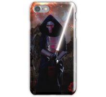 Darth Revan in Jedi Temple iPhone Case/Skin