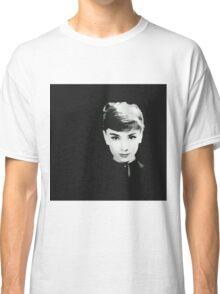 Audrey in Black Classic T-Shirt
