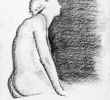 She Waits And Watches  by James Watson
