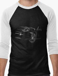 Porsche Cayman Detail Men's Baseball ¾ T-Shirt