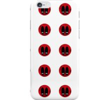 Deadpool Pattern iPhone Case/Skin