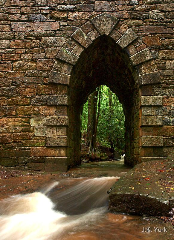 poinsett bridge by J.K. York