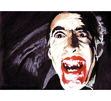The Horror of  Dracula Photographic Print