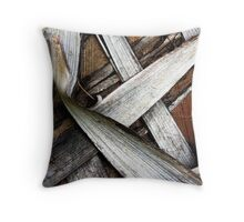 Palm Bark Series 1 Throw Pillow