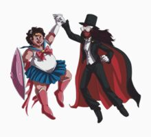 Sailor Steven and Tuxedo Connie by TehArtMonkey
