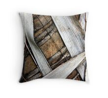 Palm Bark Series 2 Throw Pillow