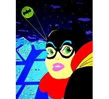 Batgirl at the Ready! Photographic Print