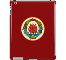 COAT OF ARMS  YUGOSLAVIA iPad Case/Skin