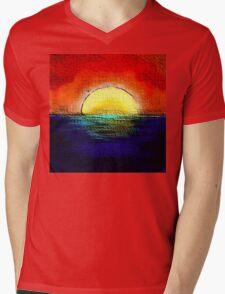 SunburntSky Mens V-Neck T-Shirt