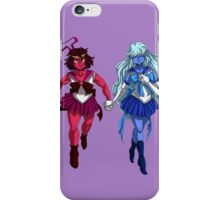 Sailor Ruby and Sailor Sapphire iPhone Case/Skin