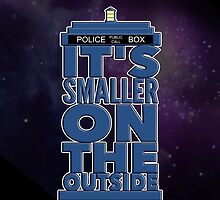 It's Smaller on the Outside - Doctor Who by BovaArt