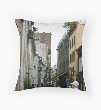 Rue de la Paul Throw Pillow