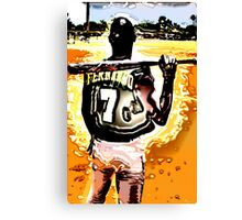 Fernando 7 Sun Burst Canvas Print
