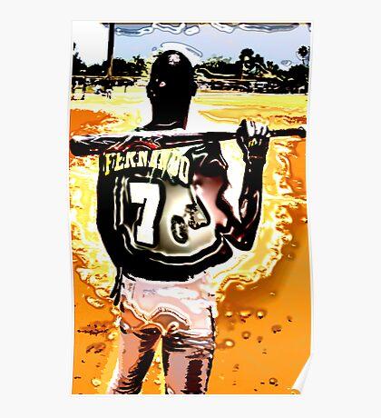 Fernando 7 Sun Burst Poster