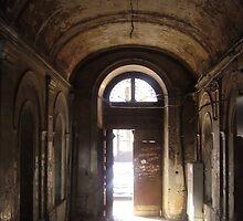 Odessa - Old Door by Nina Zhiltsova