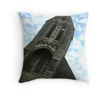 Llanwonno Church Throw Pillow