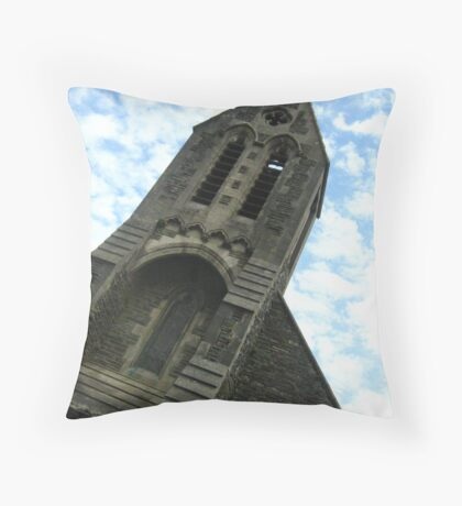 Llanwonno Church Throw Pillow