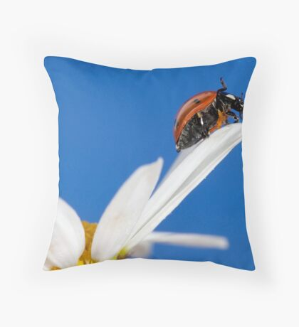 One more step... Throw Pillow