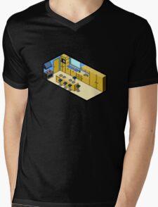 KITCHEN PIXEL ART Mens V-Neck T-Shirt