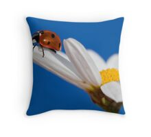 Pretty lady Throw Pillow