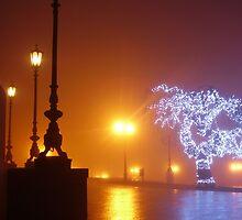 Odessa - In The Mist - Theatre 3 by Nina Zhiltsova