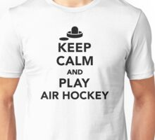 Keep calm and play Air hockey Unisex T-Shirt