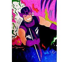 Marvel Classic Hawkeye 80's Photographic Print