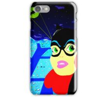 Batgirl at the Ready! iPhone Case/Skin