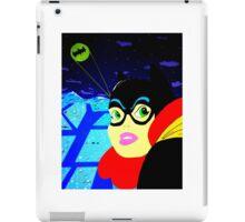 Batgirl at the Ready! iPad Case/Skin