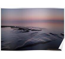 Lake Superior, Sunset. Poster
