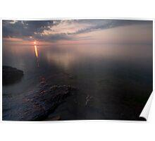 Lake Superior, Sunrise. Poster