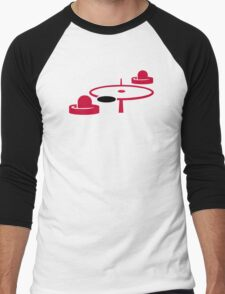 Air hockey Men's Baseball ¾ T-Shirt