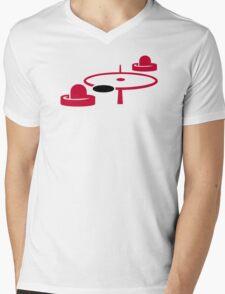 Air hockey Mens V-Neck T-Shirt
