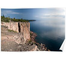 Palisade Head, North Shore, Lake Superior. Poster