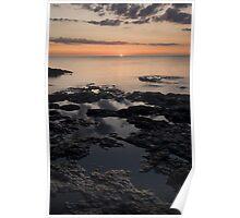 Lake Superior, Minnesota, Sunrise. Poster