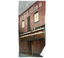 The Old Chinese Herb Store Poster