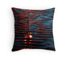 Raspberry ripple Throw Pillow