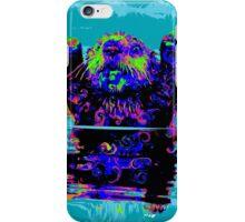 PSYCHEDLIC SEA OTTER iPhone Case/Skin