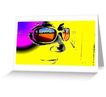 Field in Sunglasses Greeting Card