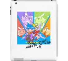 Never forget Breath of Fire! iPad Case/Skin