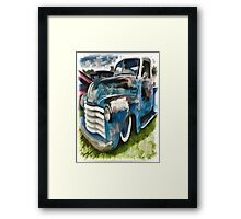 Chevy Truck Framed Print