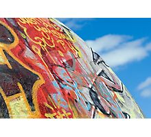 planet graffiti Photographic Print