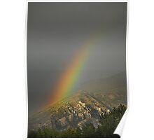 Rainbow in Alpine, Utah Poster
