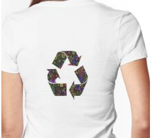 Recycle T-Shirt Womens Fitted T-Shirt