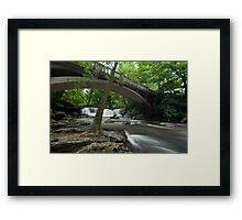 Minneopa Falls, Minnesota. Framed Print